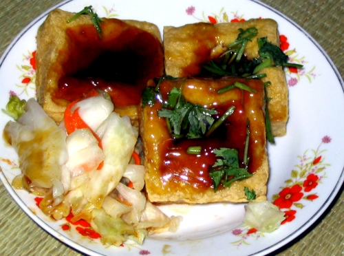 Chou Tofu - Stinky Tofu